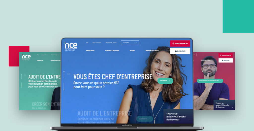 Slider site web responsive
