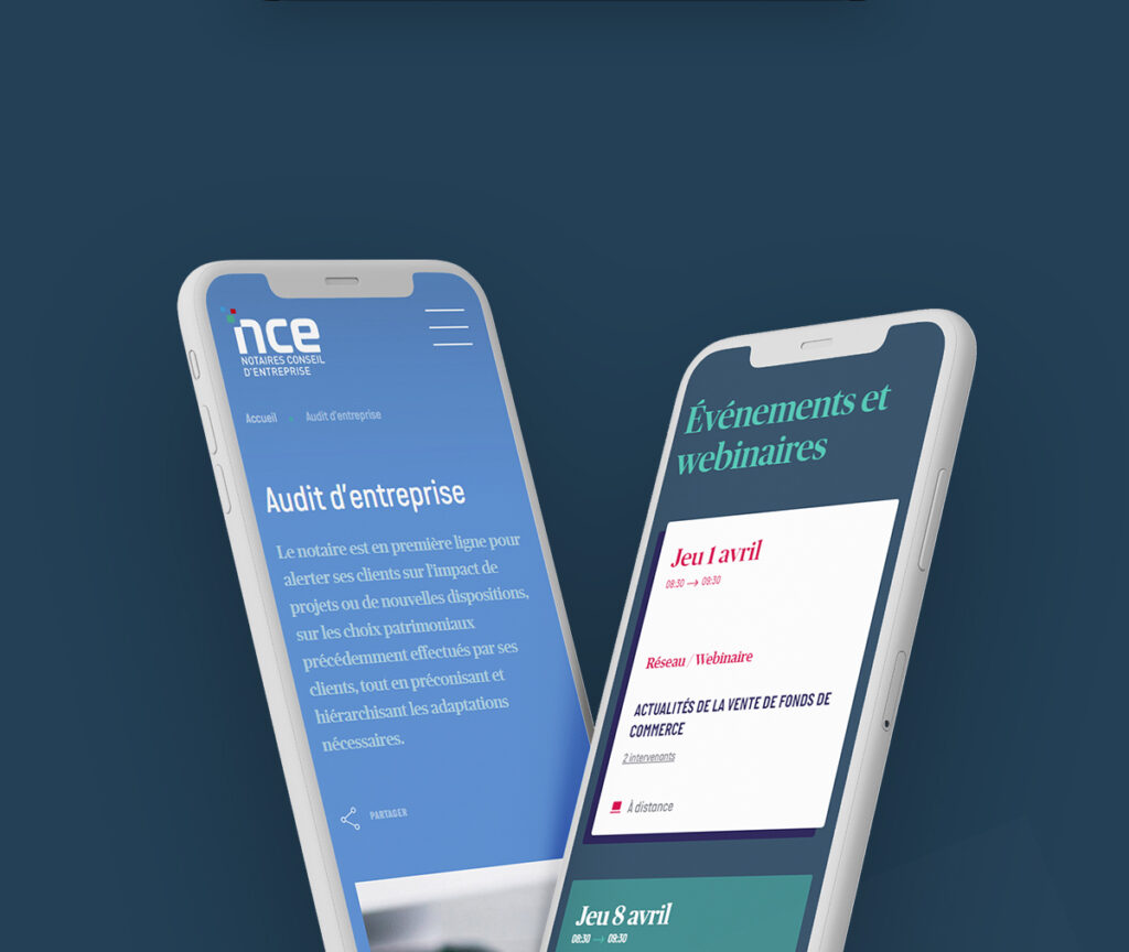 Site Notaire NCE responsive